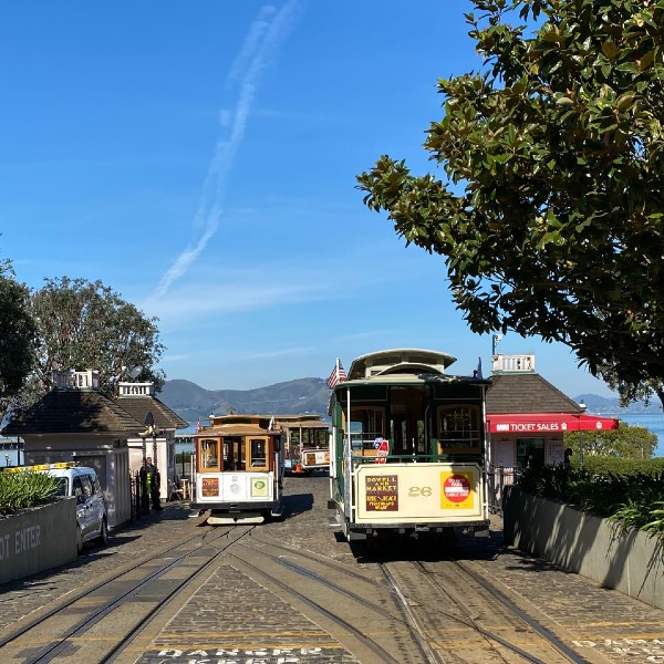 Cable Car Hyde Street turnaround
