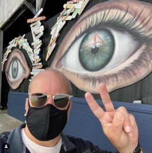 See The World Mural Umbrella Alley San Francisco