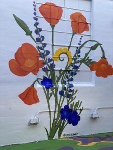 done-amillionair-california-wildflower-mural-umberella-alley