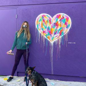 Kate Tova Heart at Umbrella Alley SF