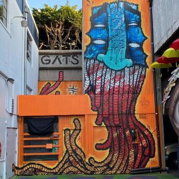 GATS Mural at Umbrella Alley